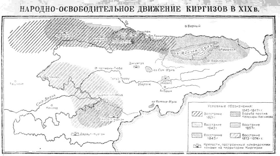 эпоха борьбы кыргызов против джунгарских захватчиков или приворот тоску